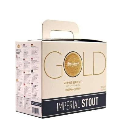 Muntons Gold Imperial Stout - 23 L