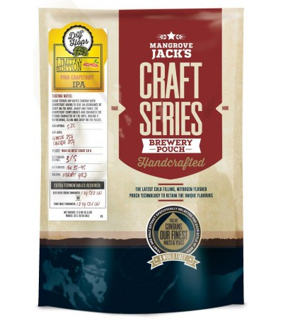 Mangrove Craft series Cerveza Pink Grapefruit IPA - 23 L