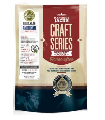 Mangrove Craft series Cerveza American Pale Ale sin gluten- 23 L