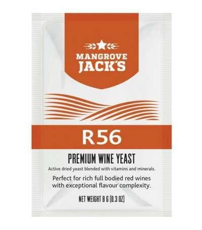 Levadura vino en polvo mangrove R56 - 8 g