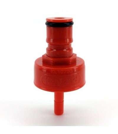 Fermzilla - adaptador ball-lock para CO2 y cerveza de plastico