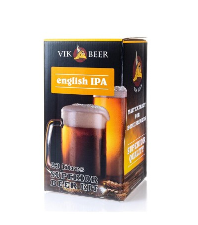 Vik beer English IPA - 23 litros