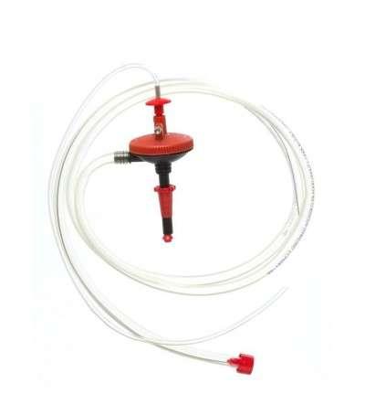 Sifon automatico con valvula inox De Maria