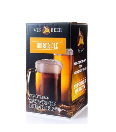 Vik beer Amber ale - 23 litros