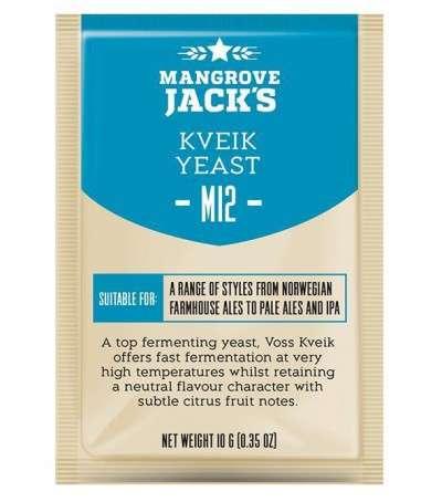 Levadura en polvo Mangrove Jack Kveik M12 - 10 g