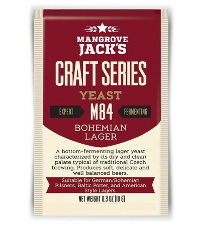 Levadura en polvo Mangrove Jack Bohemian lager M84 10g