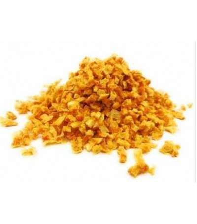 Corteza de naranja dulce deshidratada