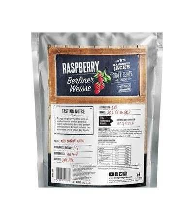 Mangrove Craft series Raspberry berliner weisse - 23 L