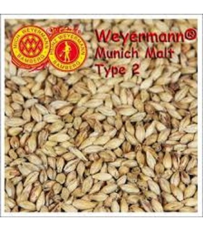 Malta Weyermann ® Munich 2 sin moler 20-25 EBC  1 kg