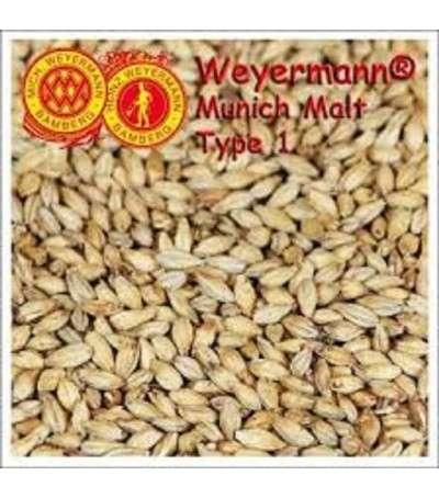Malta Weyermann ® Munich 1 sin moler  12-17 EBC