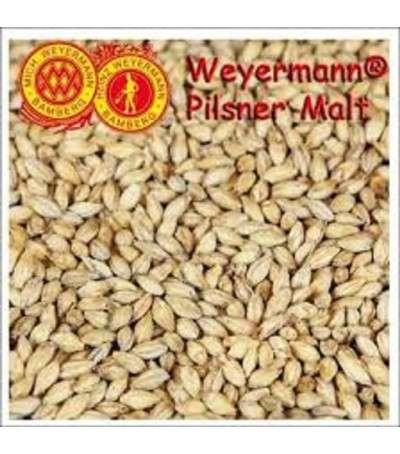 Malta Weyermann ® Pilsner sin moler - 1 kg