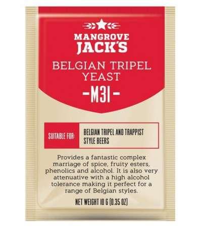 Levadura en polvo Mangrove Jack Belgian Tripel M31 -10 g
