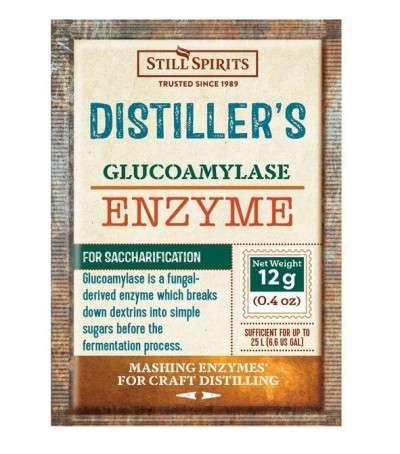 Enzima glucoamilasa - 12 g