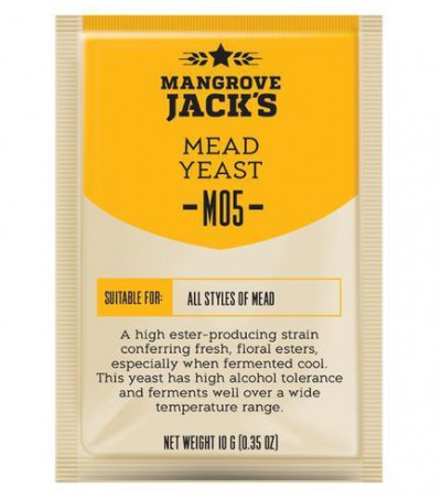 Levadura en polvo Mangrove Jack Mead M05 - 10 g (hidromiel)