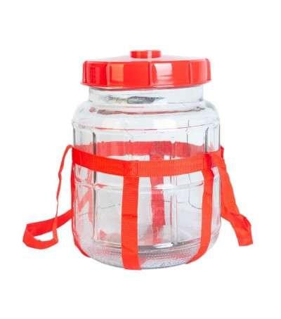 Garrafa de vidrio de 5 litros