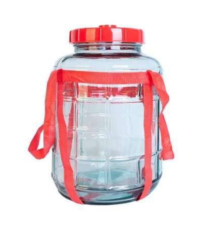 Garrafa de vidrio de 8 litros