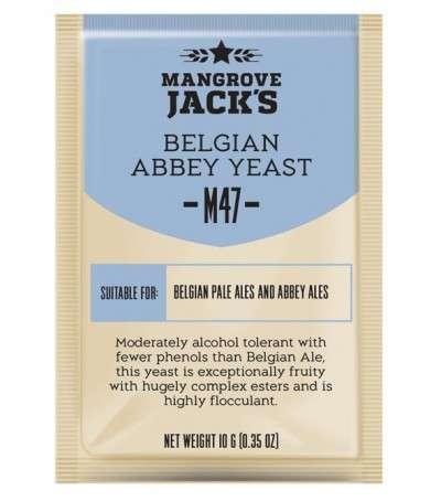 Levadura en polvo Mangrove Jack Belgian Abbey M47 - 10g