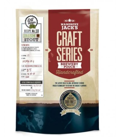 Mangrove craft series Irish stout - 23 litros