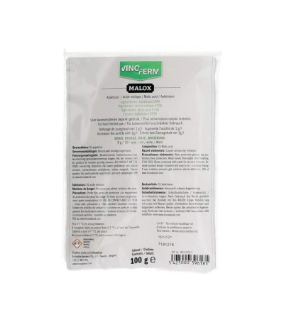 acido malico 100 gr