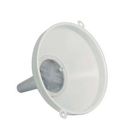 Embudo con filtro de diametro 20