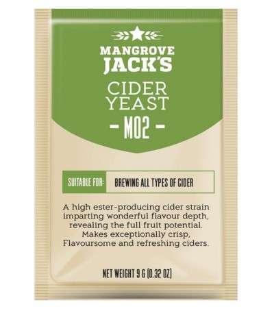 Levadura en polvo Mangrove Jack M02 sidra - 10 g