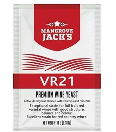 Levadura vino en polvo mangrove VR21 - 8 g