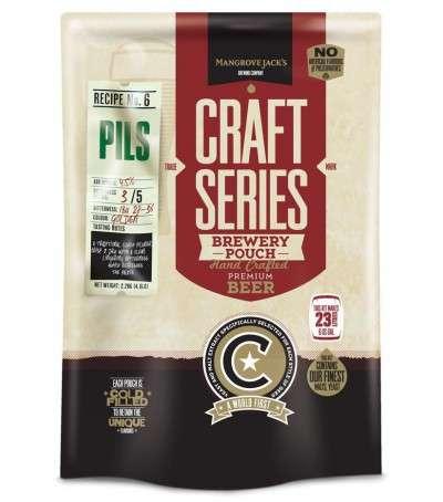 Mangrove Craft series Cerveza Pilsner con dry hop - 23 L