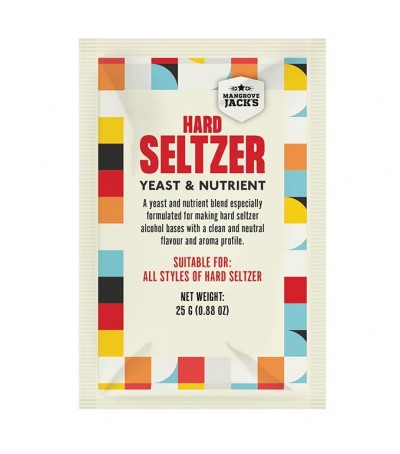 Levadura y nutrientes para hacer Hard Seltzer
