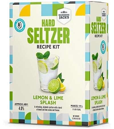 Mangrove Hard Seltzer Limon y lima
