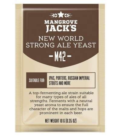 Levadura en polvo Mangrove Jack New World strong ale M42 - 10 g