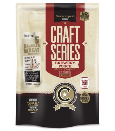 Mangrove Craft series Cerveza Bavarian Wheat - 23 L