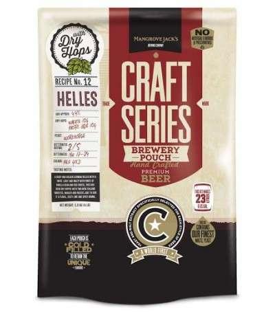 Mangrove Craft series Cerveza Helles Lager - 23 L