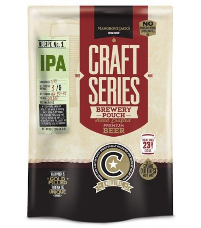 Mangrove Craft series Cerveza IPA - 23 L