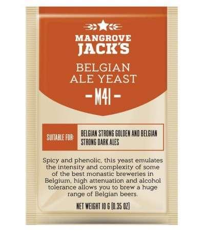 Levadura en polvo Mangrove Jack Belgian Ale M41 - 10 g