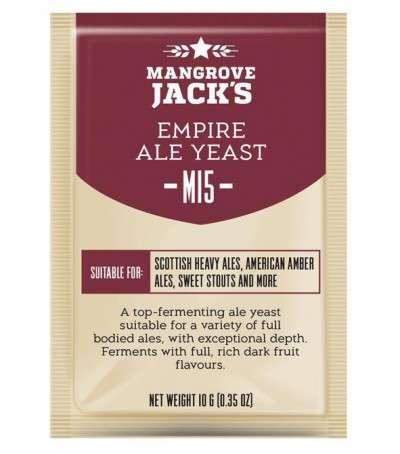 Levadura en polvo Mangrove Jack Empire ale M15 - 10 g