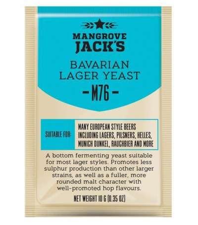 Levadura en polvo Mangrove Jack Bavarian Lager M76 - 10g