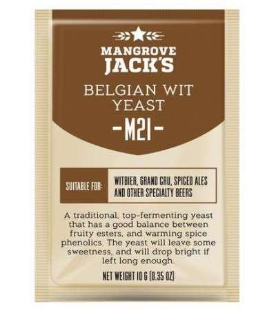 Levadura en polvo Mangrove Belgian Wit M21 - 10g