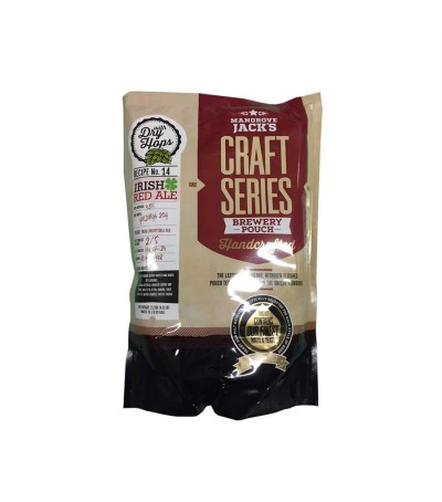 Mangrove Craft series Cerveza Irish Red - 23 L