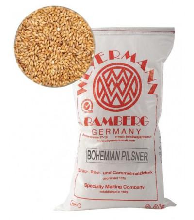 Malta Weyermann (R) Bohemian pilsner  sin moler 5 kg