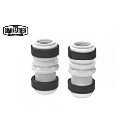 Grainfather pieza - tubos silicona y anillos fijacion bomba