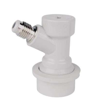 Conector ball-lock CO2 rosca MFL para barril tipo cornelius