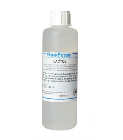 acido lactico vinoferm 250 ml