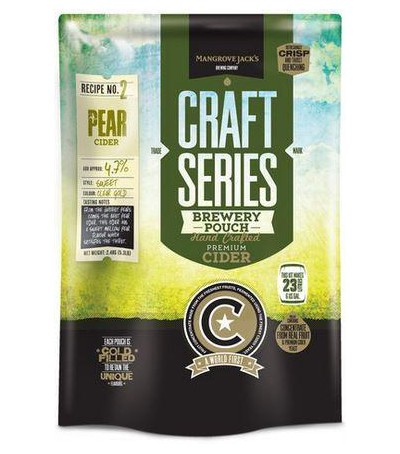 Mangrove Craft series Sidra de pera - 23 L