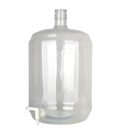Damajuana Carboy PET 23 litros con grifo